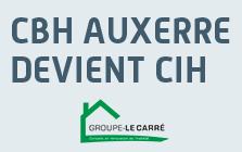 CBH Auxerre devient CIH
