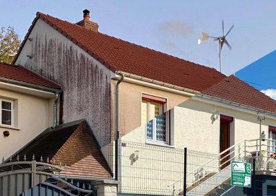 Traitement anti-algues rouges et embellissement de façade – Agence de Mulhouse